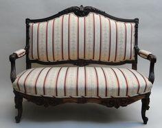 Customer upholstery work done by Zarin Fabrics.