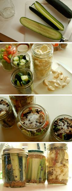 I want to pickle so many things! Cucumbers, garlic, green beans, mushrooms, peppers, you name it...