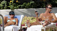 Paulina Gretzy And Golfer Dustin Johnson's Kissing photos on the Beach ...