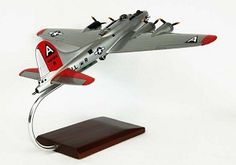 B-17G Fortress (Silver) Military Aircraft Model
