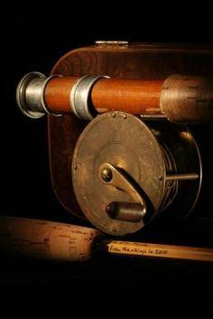 Vintage fishing rod & reel