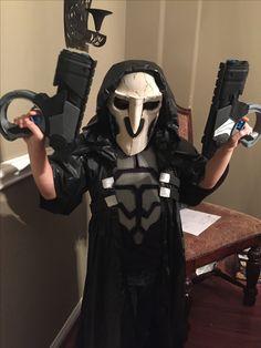 Overwatch Reaper Halloween kids costume. Overwatch cosplay.