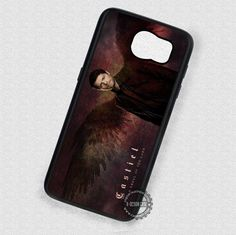 Man with Wings Castiel Supernatural - Samsung Galaxy S7 S6 S5 Note 7 Cases & Covers