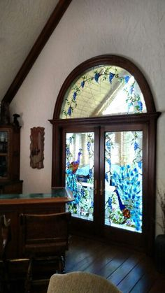 Stained glass windows done by me in 1982-1983