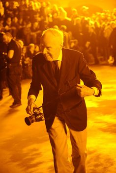 Bill Cunningham at the Marc Jacobs FW13 show