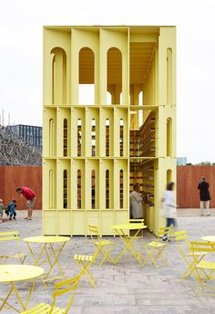 New-Horizons-LFA-Red-Yellow-Pavilion-Hall-McKnight_TAKA-Clancy-Moore-Steve-Larkin_dezeen_468_23
