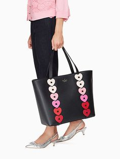 c9e8bd4200fbea NWT Kate Spade New York Yours Truly Ombre Heart Leather Tote pxru8343 $328  Gucci Handbags,