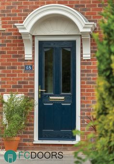A subtle and unique alternative to the Classic and Twin Arch is the Curve… Composite Front Door, Curve Design, Modern Door, Classic Elegance, Victorian Fashion, Garage Doors, Clean Lines, Architecture, Portal