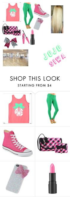 """jojo siwa"" by forgirls-1 on Polyvore featuring Converse, Jacki Design, Chassè and too cool for school"
