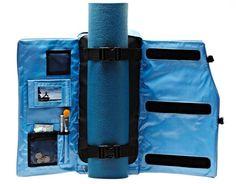 Yoga Sak - The Backpack Designed Around Yoka Mat http://coolpile.com/gear-magazine/yoga-sak-the-backpack-designed-around-yoka-mat/ via CoolPile.com - $49.95 -  Amazon.com, Backpacks, Gifts For Her, Gifts For Him, Yoga