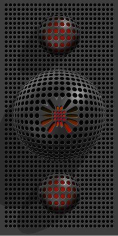 Android Wallpaper Blue, Galaxy Phone Wallpaper, Phone Wallpaper Design, Live Wallpaper Iphone, Red Wallpaper, Cellphone Wallpaper, Live Wallpapers, Pattern Wallpaper, Dark Background Wallpaper