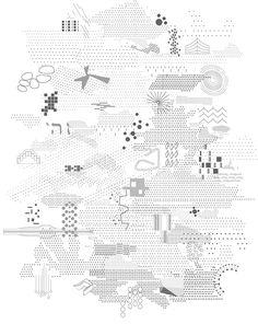 motif / trame / particules Atelier Beau-Voir