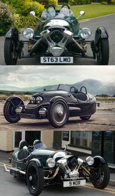 Morgan's Limited Edition 3-Wheeler EV Exclusively On Sale at Selfridges