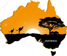 Australian Continent Royalty Free Cliparts, Vectors, And Stock . Bob Marley Art, 3d Pencil Drawings, Cnco Richard, Australia Landscape, Face Profile, Australian Continent, Face Painting Designs, Child Face, Acrylic Paintings