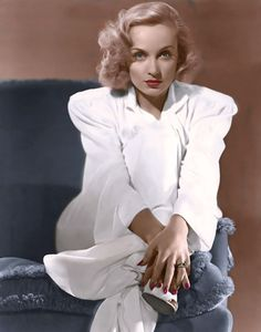 The most beautiful eyes from the Golden age of Hollywood. Carole Lombard (born Jane Alice Peters; October 6, 1908 – January 16, 1942)