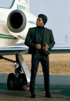 A young James Brown.