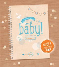 HALLO BABY! / Schwangerschaftstagebuch /  papeterie auf DaWanda.com