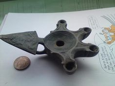 roman oil lamps - Buscar con Google