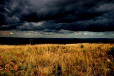 Abendsonne in den Waterbergen SA