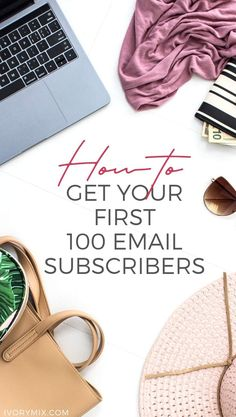 This detailed strategy will show you how to grow your email list and get your first 100 email subscribers - I give examples of free stock photo page and opt-in form and examples of forms on another website. This is showing you how to grow your email list and get your first 100 email subscribers - ideas for lead magnets, freebies, and opt-ins