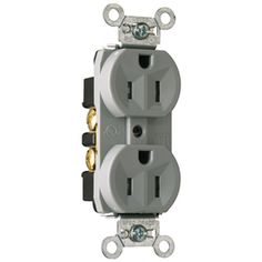20 amp weather resistant tamper resistant duplex outlet white pass seymour legrand 15 amp 125 volt gray indoor duplex wall tamper resistant outlet tr5262grycc12