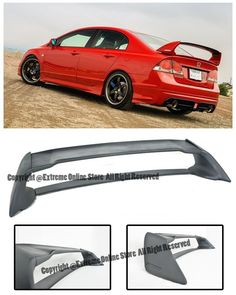 Matte Black 2010-2013 Chevy Camaro SS ABS OE Style Rear Trunk Lid Spoiler Wing