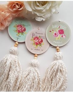 Easy Crafts, Diy And Crafts, Decoupage, Cd Diy, Wood Pallet Art, Beautiful Interior Design, Recycled Jewelry, Macrame Patterns, Shabby Vintage