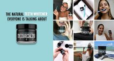 NO MORE SENSITIVE TEETH after whitening! Whiten your teeth the natural way with 100% natural activated coconut charcoal teeth whitening powder from The Charcoal Spa! Made in the US, no chemicals, no bleach, cruelty-free, vegan and non-GMO! There is NO taste at all, and it only takes 2 minutes for a whiter smile. People typically see results after 14 days! Activated Charcoal Teeth Whitening, Natural Teeth Whitening, White Smile, Cruelty Free, Bleach, Powder, Spa, Coconut, Vegan