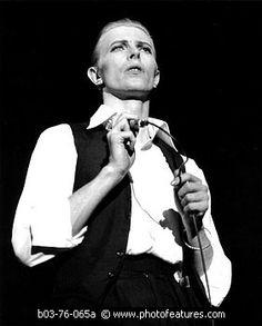 #davidbowie #may #1976 #wembley #empire #pool #london #thinwhiteduke