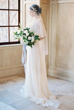 Elegant Bridal Portraits with Old World Style - Once Wed