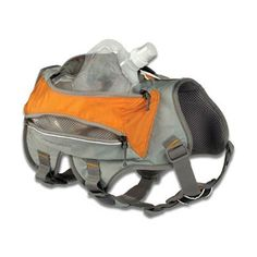 This is too great...A dog hiking backpack! Ruffwear SingleTrak Pack : Free Shipping : Backcountry K-9