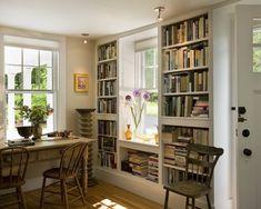 Built in book shelf