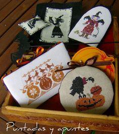 Halloween Box. #embroidery #finishing #halloween