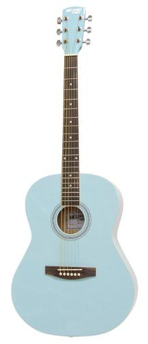 Save $ 46.78 order now Darling Diva DDPKG02BL Acoustic Guitar, Powder Blue at Ch