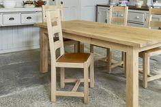 The Oak Parson's Chair by Indigo Furniture