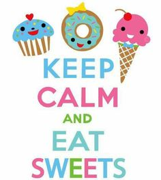 I can't keep calm when there is food around me!!! :D