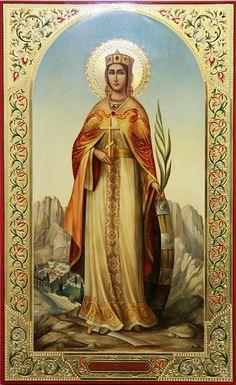 Beautiful Landscape Wallpaper, Beautiful Landscapes, St Catherine Of Alexandria, Esoteric Art, Orthodox Icons, Sacred Art, Christian Art, Narnia, Saints