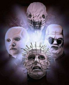 Pinhead and the Cenobites