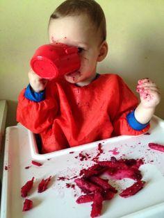 """Buraczane pesto"" - Przepisy BLW | Ala'Antkowe BLW Pesto, Plastic Cutting Board, Baby, Baby Humor, Infant, Babies, Babys"