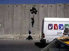 Isreals wall of seperation wall! Palestinians will someday be free!!
