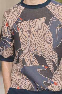 PRINTS, PATTERNS AND DETAILS FROM RECENT PARIS FASHION WEEK (MENSWEAR SPRING/SUMMER 2015) / 10