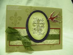 Live Simply by berlycece - Cards and Paper Crafts at Splitcoaststampers