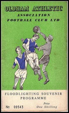 Oldham Athletic v Burnley 1960/61 by footysphere, via Flickr