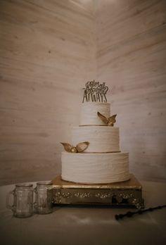 My Harry Potter themed wedding cake ❤️