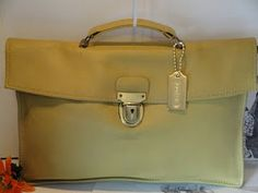 COACH BONNIE CASHIN CARRY SATCHEL BRIEF BAG, 1960s