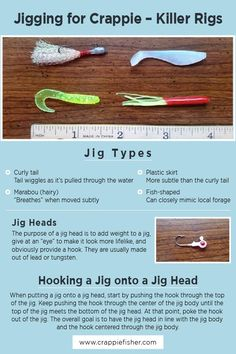 Crappie Rigs, Crappie Fishing Tips, Fishing Knots, Fly Fishing, Plastic Skirt, Boat Rod Holders, Survival Life Hacks, Fishing Techniques, Fishing Stuff