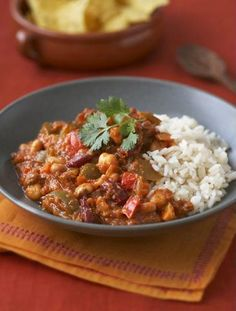 Super Simple Vegetarian Chili