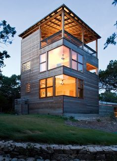 """The """"Tower house"""" by Andersson Wise architects."""