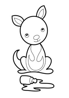 Giant Panda Try to Climb Tree Coloring Page | Coloring Sun ...