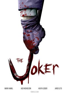 A concept poster I created for The Joker. It seemed appropriate considering all the news that is coming out about the Joker from the Suicide Squad and B. The Joker - Concept Poster O Joker, Harley Quinn Et Le Joker, Joker Art, Joker Cartoon, Joker Comic, Joker Heath, Im Batman, Superman, Deadpool
